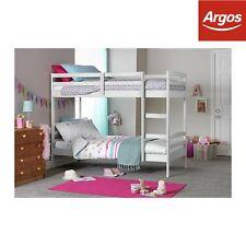 Argos Home Josie Shorty Bunk Bed with 2 Mattresses - White