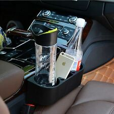 Black Cup Holder Drink Beverage Seat Seam wedge Car Auto Truck Universal Mount