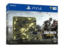 Sony PlayStation 4 Slim Call of Duty: WWII Limited Edition 1TB Green Camouflage