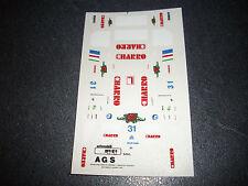DECAL HIFI   AGS 1986  NEUF NO MERI TAMEO BBR