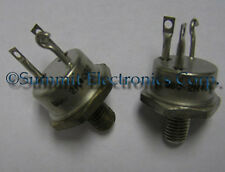 2N4002 Transistor GP BJT NPN 80V 30A 3-Pin TO-63 MFR BSC
