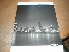 2013 FORD MUSTANG SHELBY BOSS 302 ESCAPE F150 WARRANTY OWNERS MANUAL SUPPLEM