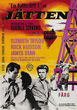 Giant James Dean Taylor Hudson movie poster #2