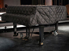 Yamaha C2 Piano Cover 5'8 Black Quilted Padded with Side Slits G2
