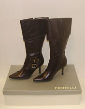 FIORELLI WOMENS POINTY WINTER BOOTS SIZE 11 LEATHER LADIES JAYE CHOC rrp $299.95