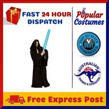 Star Wars Jedi Sith Knight Hooded Cloak Robe Adult Cape Halloween Mens Costume