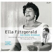 Ella Fitzgerald & Nelson Riddle SWINGS BRIGHTLY + SWINGS GENTLY New Vinyl 2 LP