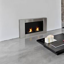 Gel Alcohol Bio Ethanol Fireplace 2 Burners Wall mounted Indoor Fireplace Heater