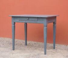 Scrittoio tavolino Luigi XVI laccato Shabby Chic, primi '800 - L 85 x P 62,5 cm!