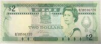 FIDJI - 2 DOLLARS Non Daté - Billet de banque NEUF