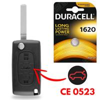 Schalter knopf schlüssel fernsteuerung für Peugeot funkschlüssel system Sendung