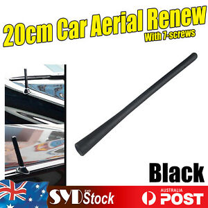 Black Stubby Black 20m Exterior Antenna Aerial For Volkswagen Beetle Golf Jetta