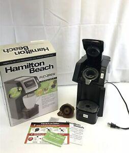 Hamilton 49979 FlexBrew Single-Serve Coffee Maker Comp. w/ Pod Packs & Grounds