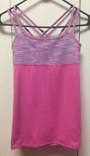 IVIVVA By Lululemon Eight Count Strappy Double Layer Flowy Tank Top Size 12