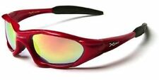Gafas de sol de hombre rojo deportivo, de 100% UVA & UVB