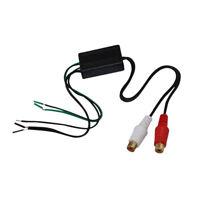 Premium Car Audio Speaker Wire To Rca Line Output Converter Ad-108FM