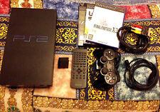 SONY PS2 PlayStation 2 CONSOLE COMPLETA TELECOMANDO+3 GIOCHI-NO PS3-PS4-XBOX 360
