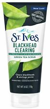 St. Ives Blackhead Clearing Face Scrub Green Tea 6 oz
