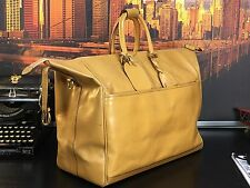 GUCCI Italy Luxury Cabin Travel Leather Carryall Duffle Suitcase Gym Bag Mens