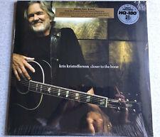 NEW SEALED 180gm HQ-180 Closer To The Bone Kris Kristofferson vinyl LP record