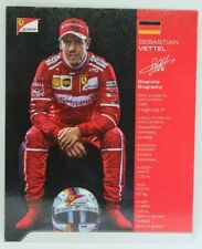 New listing 2017 Sebastian Vettel Ferrari F1 Driver Card Formula 1 Autograph Cards