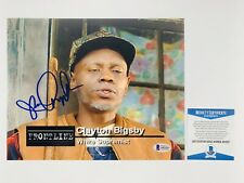 DAVE CHAPPELLE SIGNED CLAYTON BIGSBY 8x10 PHOTO AUTHENTIC BAS COA #A93337