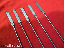"NEW PENDULUM RODS 17"" LONG  5 PIECES SUSPENSION SPRING FOR MOST AMERICAN CLOCKS"