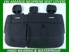 VOLKSWAGEN AMAROK REAR  SPORTS  NEOPRENE SEAT COVERS ( WETSUIT MATERIAL )