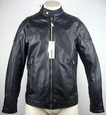 DIESEL L-MONIKE JACKET Leather Lederjacke Herren Bikerjacke Gr.XL NEU mit ETIKET