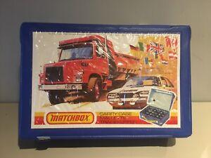 Matchbox Carry Case 24 Vintage Vehicles Great Condition & Lesney Corgi Majorette