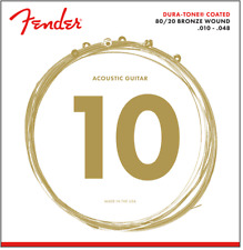 Fender Dura-Tone Coated Acoustic Guitar Strings - 880XL Extra Light 10's