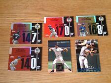 Alex Rodriguez Topps MLB Béisbol insertar Trading Cards