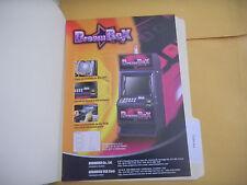 DREAM BOX ANDAMIRO     ARCADE   GAME  FLYER