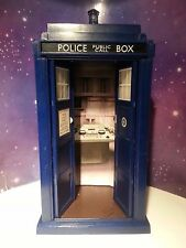 "1ST DR WHO TARDIS POLICE BOX CLASSIC CONSOLE ROOM CUSTOM TOY FOR 5"" FIGURES"