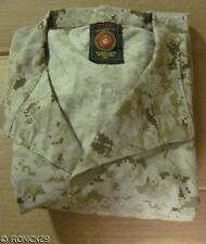 NEW USMC Desert Digital Camo Shirt MCCUU BDU Authentic LARGE/REGULAR