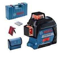 Livella Laser a 3 Assi GLL 3-80 P BOSCH Professional 0601063S00 In valigetta con