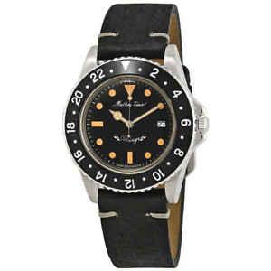 Mathey-Tissot Mathey Vintage Quartz Black Dial Men's Watch H900ALN