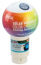 Solardosierer Schwimmer mit Farbwechsel-LED-Licht, Summer Fun, Chlordosierer