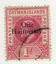 1907 Cayman Islands SC #17 KEVII   F-VF used stamp