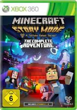 Minecraft-Story Mode-The Complete Adventure (A Telltale Game Series) XBOX360 NEU
