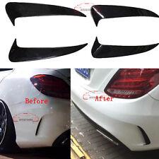 Custom AMG C63 Rear Bumper Vent Cover Trim For Benz W205 C-class Sport 2014-2016