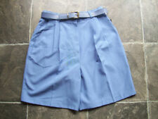 Viscose Patternless Classic Shorts for Women