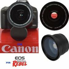 49MM HD WIDE ANGLE FISHEYE LENS + MACRO LENS FOR Canon EF 50mm f/1.8 STM Lens