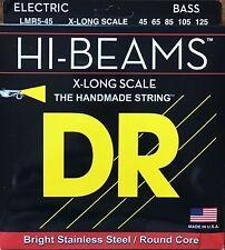DR LMR5-45 Hi Beam BASS Guitar Strings 45-125 medium gauge 5 string XL scale