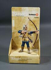 German Schleich Toy Soldier 70006 ARCHER Ritter Medieval Knight Figurine Box New