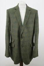 VALLEY MILLS Green Checked Blazer Size 50L