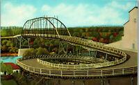 Spiral Bridge Hastings Minnesota 1960's Vintage Postcard AA-003