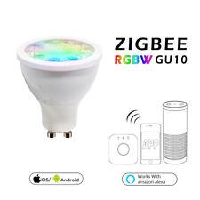 Zigbee Dimmable Led Smart Light GU10 5W Spotlight Bulb for Echo Plus APP Control