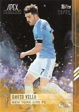 2015 Topps Major League Soccer Apex Base Card Gold Parallel Different Variations
