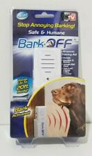 BARK OFF Dog Anti-Barking Ultrasonic Training Aid Stop To Barking - New